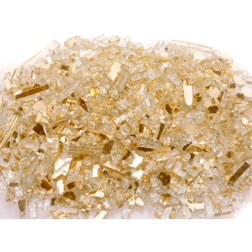 Gold Reflective Package of Fyre Glass - 10 lbs.