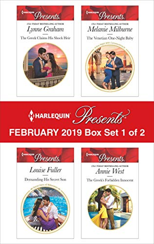 Harlequin Presents - February 2019 - Box Set 1 of 2: An Anthology