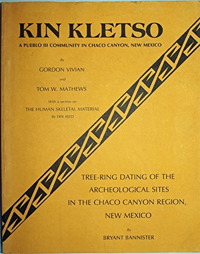 Kin Kletso: A Pueblo Iii Community In Chaco Canyon, New Mexico / Tree-Ring Dating Of The Archeological Sites In The Chaco Canyon Region, New Mexico (Technical Series, Vol. 6 (2 Parts))
