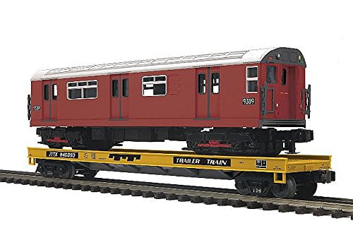 MTH MTH2095181 O Flat w/R-33S Subway Car, TTX #2