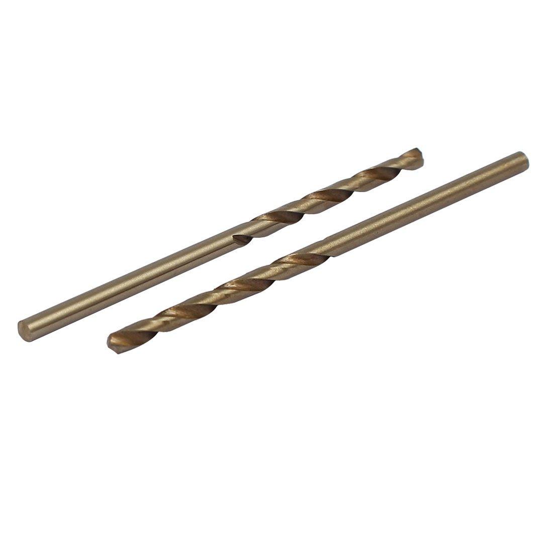 uxcell 2.2mm Dia Split Point HSS Cobalt Metric Twist Drill Bit Drilling Tool 10pcs