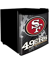 San Francisco 49ers 1.7 Cubic Foot Dorm Size Fridge
