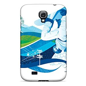 Cases For Galaxy S4 With Snowboard Halfpipe