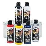 Auto Air Colors Airbrush Paint Transparent Set - 4963-00