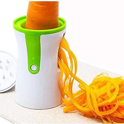 Mano cuchilla en espiral para las verduras Espagueti, OYD cortadora de hortalizas zanahoria rallador de