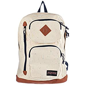 JanSport Houston Laptop Backpack (Natural Speckled Canvas)