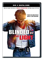"""Blinded By The Light (DVD + Digital)From writer/director/producer Gurinder Chadha (""""Bend It Like Beckham"""") comes the drama """"Blinded by the Light,"""" set to the inspiring music and lyrics of Bruce Springsteen's timeless songs.]]>"""