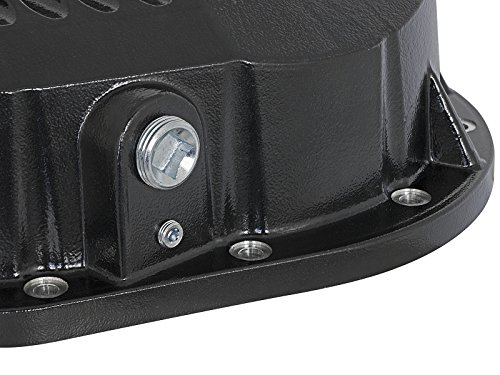 aFe Power 46-70022-WL Pro Series Machined Rear Differential Cover with Gear Oil by aFe Power (Image #4)