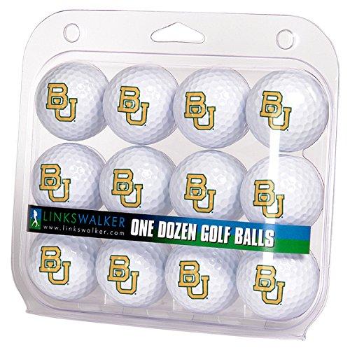 Ncaa Dozen Golf Ball - LinksWalker NCAA Baylor Bears - Dozen Golf Balls