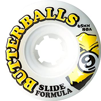 Sector 9 Top Self Mantequilla Bolas Slide Ruedas, Blanco, 65 mm 80 A: Amazon.es: Deportes y aire libre