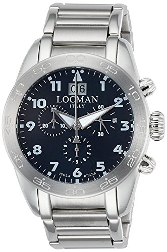 LOCMAN watch ISOLA D'ELBA 0460A02-00BLWHB0 Men's