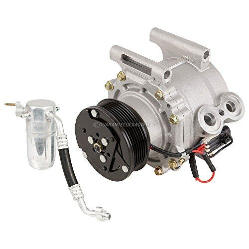 - AC Compressor w/A/C Drier For Chevrolet Trailblazer EXT 2002 - BuyAutoParts 60-86623R2 New