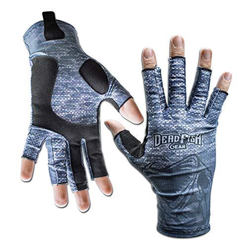 Dead Fish Gear Fishing Gloves (X-Large)