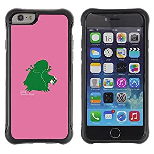 KEIZZ Cases / Apple Iphone 6 PLUS 5.5 / Izann - Funny / Robusto Prueba de choques Caso Billetera cubierta Shell Armor Funda Case Cover Slim Armor