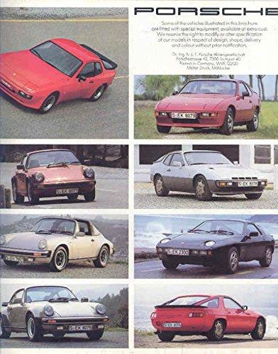 Amazon.com: 1982 Porsche 924 924 Turbo 944 911 Turbo 911SC Targa: Entertainment Collectibles