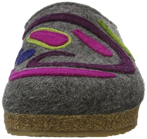 4 Grizzly Adulte Haflinger Chaussons Mixte Gris Jette anthrazit xaxgqn07
