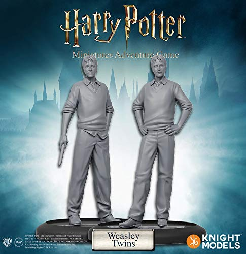 Adventures Miniatures - Harry Potter Miniatures Adventure Game Fred and George Weasley Expansion