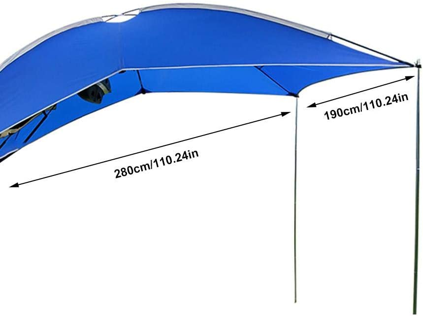 ligero camping Sedan al aire libre Blentude impermeable para SUV Hatchback MPV Toldo de toldo para caravana o caravana Minivan
