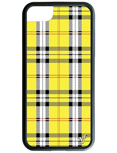 Wildflower Limited Edition iPhone Case for iPhone 6, 7, or 8 (Yellow Tartan)
