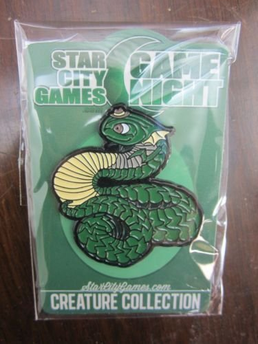 STAR CITY GAMES CREATURE COLLECTION 2014 WURM PIN