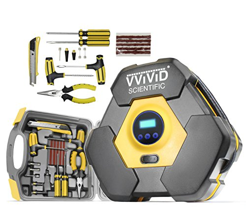 VViViD Deluxe Turbo Tire Compressor Safety Kit (Tire Repair Emergency)