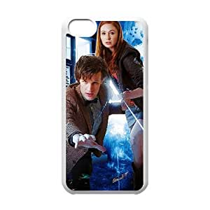 Doctor Who iPhone 5c Cell Phone Case-White MUS9167177