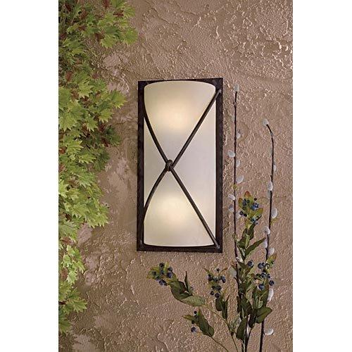 Minka Outdoor 72002-A138-PL, Aspen II Outdoor Wall Pocket Sconce Lighting, 26w Fluorescent, Bronze (Aspen Outdoor Light)