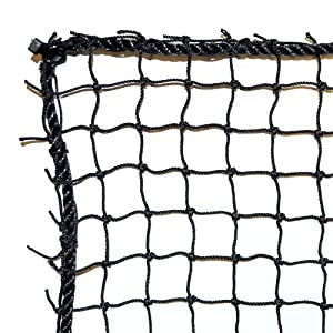 Dynamax Sports Golf Practice/Barrier Net, Black, 10X20-ft