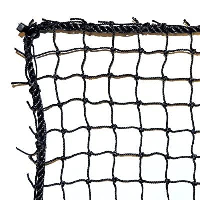 Dynamax Sports Golf Practice/Barrier Net, Black, 10X20-ft