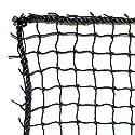 Dynamax Sports Golf Practice/Barrier Net, Black, 10X15-ft
