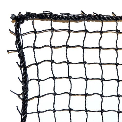 Dynamax Sports Golf Practice/Barrier Net, Black, 10X15-ft (Barrier Netting)