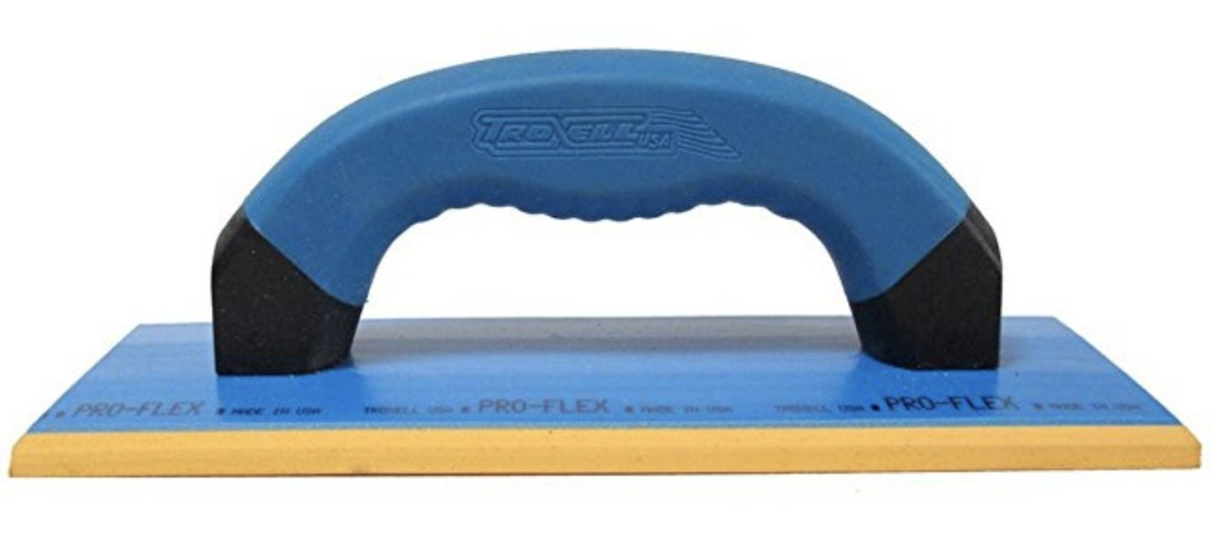 Troxell USA - 4'' x 9'' Gum Rubber Epoxy Grout Float by TROXELL USA