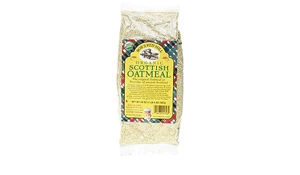 Bobs Red Mill - Harina de avena escocesa orgánica - 20 oz.: Amazon.es: Alimentación y bebidas