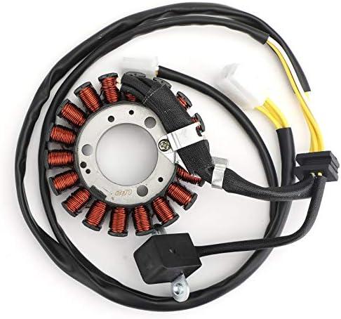 Artudatech Bobina di statore Magneto Alternatore Motociclo 8 Poli Generatore di Bobina Motore Accensione Generatore Bobina per HON-DA CRF250R 2004-2009 CRF 250 R 31120-KRN-670