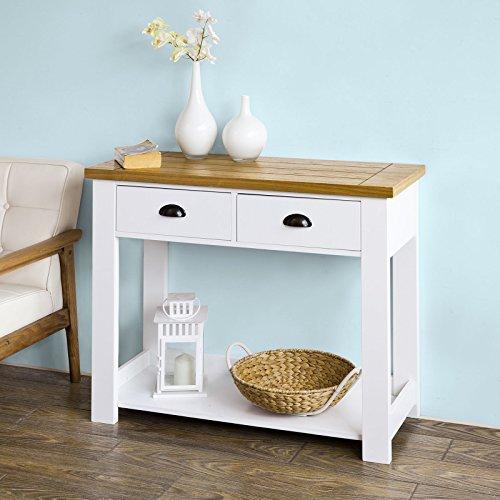 SoBuy® Flurschrank, Sideboard, Beistelltisch, Konsolentisch, Küchenschrank, FKW43-WN