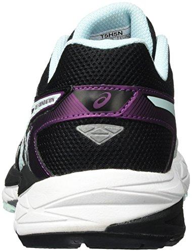Asics Gel-Foundation 12, Zapatillas de Running para Mujer Varios Colores (black/soothing Sea/phlox)