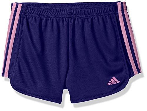 adidas Big Girls' Yrc Mesh Short, Real Purple Adi, (Purple Girls Shorts)