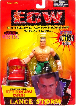 Amazoncom Ecw Toymakers Action Figure Lance Storm Toys Games