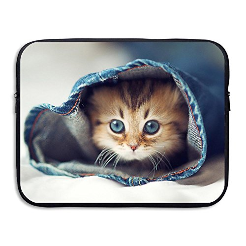 Trouser Liner - Mr.Roadman Laptop Sleeve Bag Cute Cats In Trousers Briefcase Sleeve Bags Cover Computer Liner Case Waterproof Computer Portable Bags