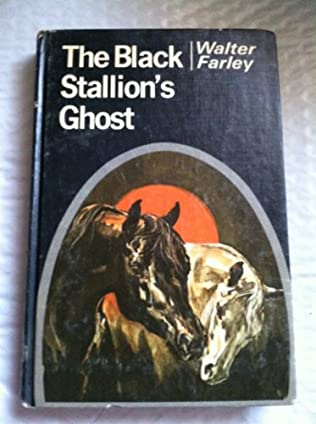book cover of The Black Stallion\'s Ghost