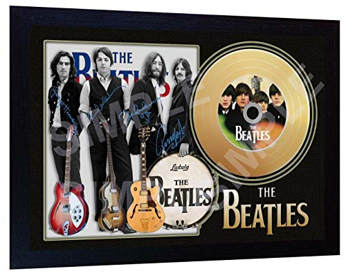 S&E DESING The Beatles for Sale Signed Autographed Framed