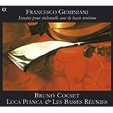 Geminiani: Sonatas Para Chelo Con Continuo Op. V / Cocset, Pianca, Les Basses Reunies