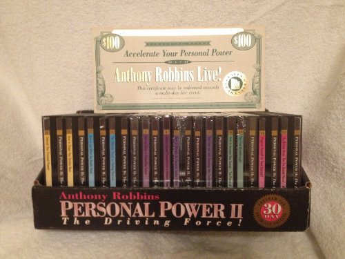 Anthony Robbins: Personal Power II - The Driving Force (Anthony Robbins Personal Power compare prices)