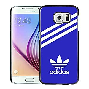 Fahionable Custom Designed Samsung Galaxy S6 Cover Case With Adidas 30 Black Phone Case