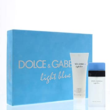 59657c16 Image Unavailable. Image not available for. Color: Dolce & Gabbana Light  Blue Eau De Toilette/Refreshing Body Cream Gift ...