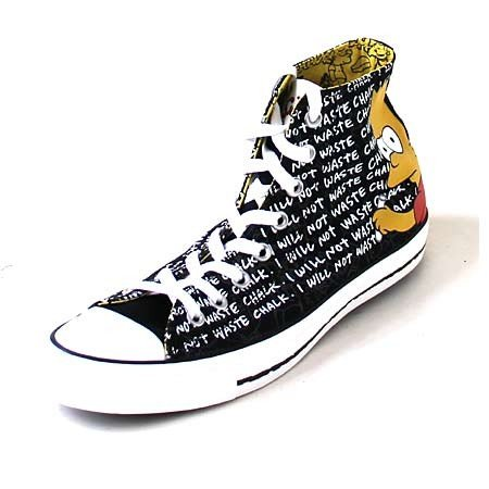 bca8af3d6bea Converse CT Hi The Simpsons Collection Bart Simpson All Star Sneaker ...