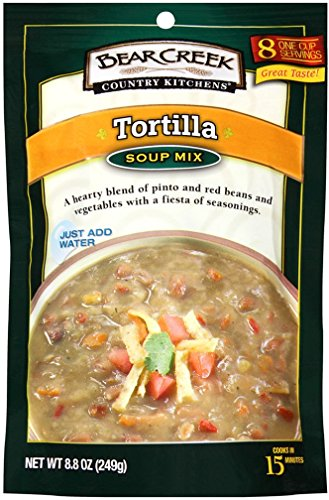 Bear Creek Country Kitchens Soup Mix, Tortilla, 8.8 Ounce (Pack of 6)