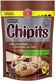 HERSHEY'S CHIPITS Chocolate Chips for Baking, Milk Chocolate,