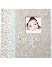 C.R. Gibson Slim Bound Photo Journal Album,Linen Tree