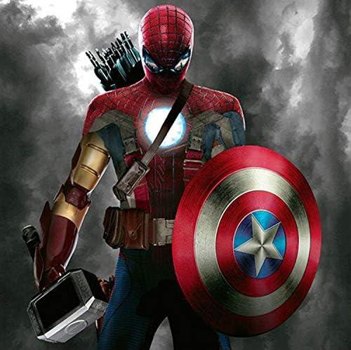 BAIOKAISHUII 5 St/ück HD-Druck Iron Man Marvel Filmplakat Malerei Leinwand Wandkunst Bild Home Decoration Wohnzimmer Leinwand Malerei-Rahmenlos